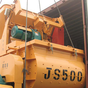 Our JS500 Concrete Mixer to Russia