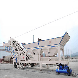 Our HZSY50 Concrete Mixing Plant to  Nigeria