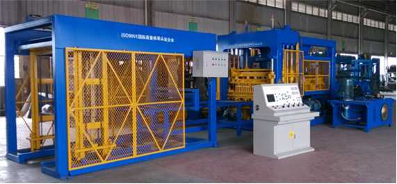 PE12-18 Full Automatic Concrete Block Making Machine