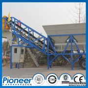 YHZS25 concrete batching plant to Turkey