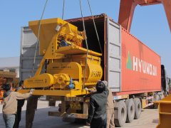 Pioneer Concrete Mixer to Russia